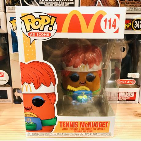 【USA直輸入】POP! マクドナルド テニス マックナゲット  114 ポップ フィギュア FUNKO ファンコ 企業キャラ アド ミールトイ