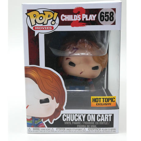 【USA直輸入】 POP! Child's Play チャイルドプレイ Chucky  チャッキー・オン・カート 658 ポップ! FUNKO ファンコ フィギュア ホラー