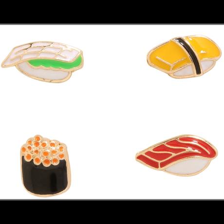 【USA直輸入】SUSHI 寿司 ダイカット ピアス アクセサリー イクラ たまご マグロ