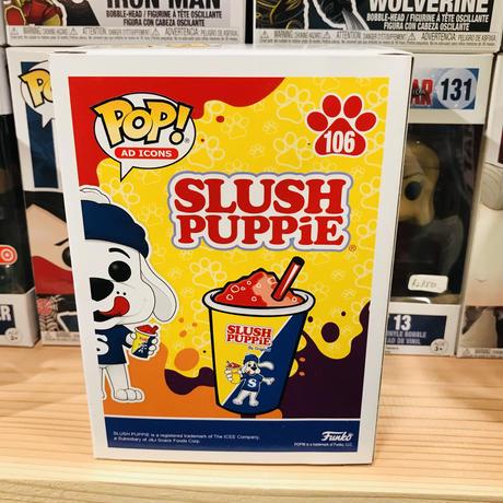 【USA直輸入】POP! スラッシュ パピー 106 ポップ フィギュア FUNKO ファンコ 企業キャラ アド SLUSH PUPPiE