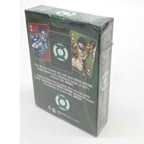 【USA直輸入】DC グリーンランタン トランプ プレイングカード DCコミックス Green Lantern