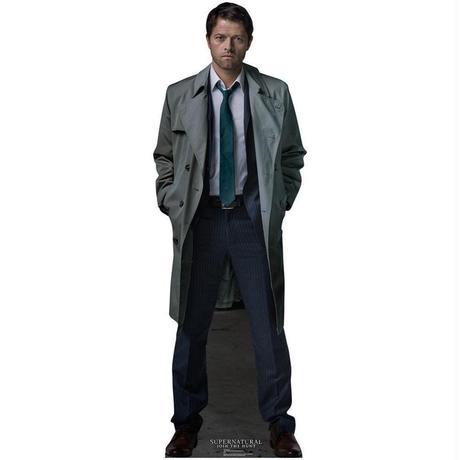 【USA直輸入】スーパーナチュラル 等身大パネル カスティエル ポスター Supernatural  キャス 天使 ウィンチェスター兄弟   Castiel Standee ライフサイズ