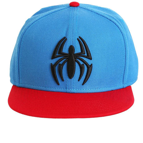 【USA直輸入】MARVEL スパイダーマン ホームカミング ロゴ キャップ 帽子 スナップバック マーベル アベンジャーズ  ピーター・パーカー Spider-Man