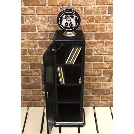 【アメリカン雑貨 】ガスポンプ  CD ホルダー ルート66  ROUTE66 ボックス