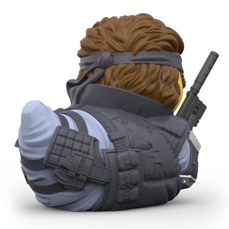 【UK直輸入】メタルギアソリッド ソリッド・スネーク  コレクタブル ダック TUBBZ フィギュア あひる GAME ラバーダック   ゲーム アヒル メタルギア Solid Snake