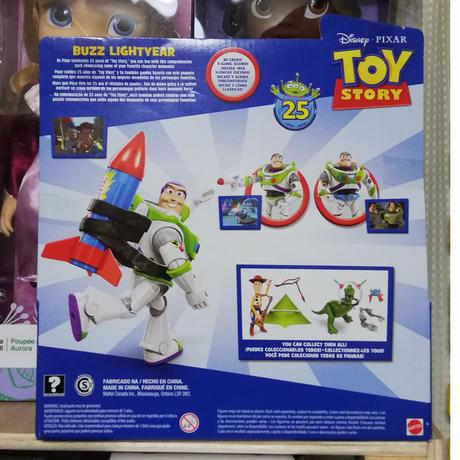 【USA直輸入】DISNEY トイストーリー 25周年アニバーサリー バズライトイヤー 3アイテム付き アクション フィギュア  Toy Story  ディズニー ピクサー バズ・ライトイヤー