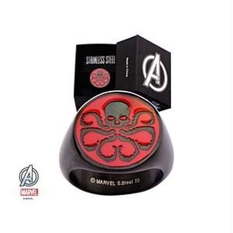 【USA直輸入】マーベル MARVEL Hydra ヒドラ ロゴ リング 指輪 正規ライセンス品 アクセサリー