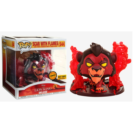 【USA直輸入】DISNEY FUNKO Treasures トレジャーズ ライオンキング ボックス POP! スカー チェイスVer フィギュア ポップ ティモン エド ザズー  Lion King