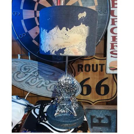 【USA直輸入】ゲームオブスローンズ アイアン スローン 鉄の玉座 デスクランプ ランプ ライト ゲーム・オブ・スローンズ GOT