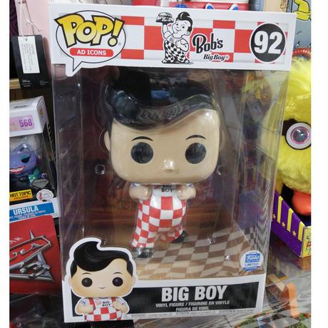 【USA直輸入】POP! Ad Icons : ビッグボーイ BIG BOY 92 10インチ フィギュア FUNKO ファンコ アド アドバタイジング 企業 ボビー ハンバーグ
