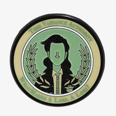 【USA直輸入】MARVEL マーベル ロキ ピン バッチ  ヘルメット LOKI アクセサリー  ドラマ DISNEY ディズニープラス