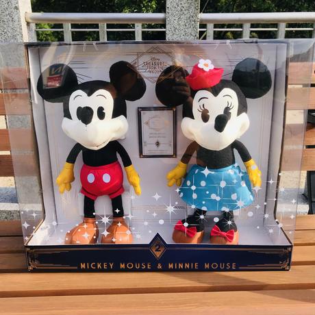【USA直輸入】DISNEY  ディズニートレジャーシリーズ No,2 ミッキーマウス ミニーマウス ぬいぐるみ プラッシュ ディズニー クラシックミッキー ミニー