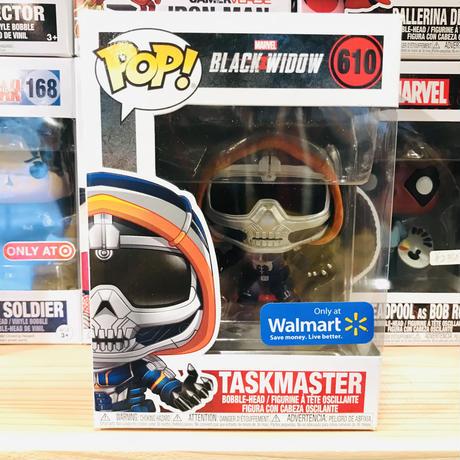 【USA直輸入】POP! MARVEL  ブラックウィドウ タスクマスター ポップ 610 フィギュア FUNKO ファンコ マーベル TASKMASTER  限定品