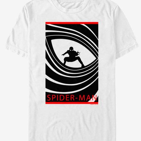 【USA直輸入】MARVEL スパイダーマン ファーフロームホーム  ダブルオースパイダー Tシャツ マーベル   Spider-Man