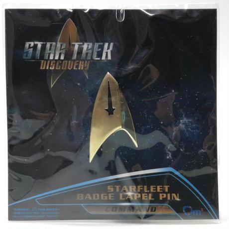 【USA直輸入】スタートレック コマンド 記章 スターフリート バッジ ラペル ピン スタトレ  Star Trek バッチ ロゴ マーク ピンズ ピンバッジ