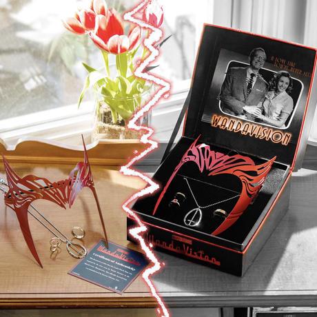 【USA直輸入】MARVEL ワンダヴィジョン アクセサリー パワーパック ネックレス レプリカ SET リング S.W.O.R.D. モニカ ワンダ ヴィジョン スカーレットウィッチ 魔女