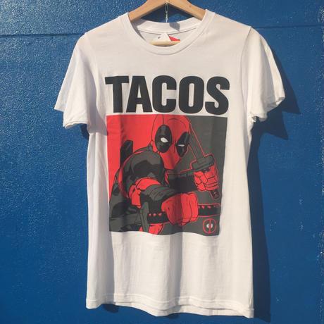【海外輸入品・新品】marvel デッドプール Tシャツ タコス Sサイズ