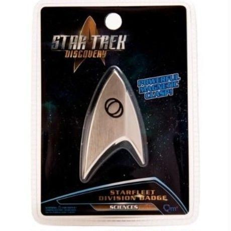 【USA直輸入】スタートレック Discovery サイエンス バッヂ マグネット式 エンブレム スタトレ  Star Trek ディスカバリー ロゴ マーク Qmx  SCIENCES