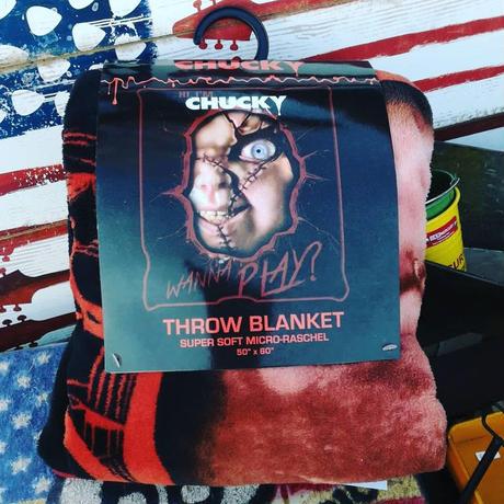 【USA直輸入】Chucky チャッキー ブランケット 毛布 127×154㎝ ホラー