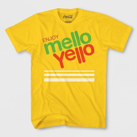 【USA直輸入】Coca-Cola Mello Yellow コカコーラ メローイエロー Tシャツ Sサイズ 企業 コカ・コーラ