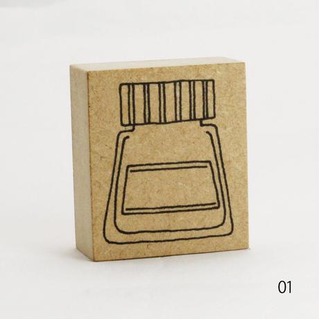 インクボトルはんこ(再販デザイン)