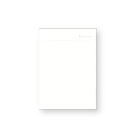 clip paper A5 日付・タイトル罫