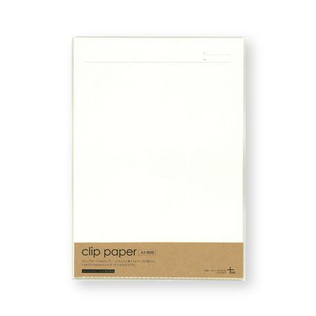 clip paper A4 日付・タイトル罫