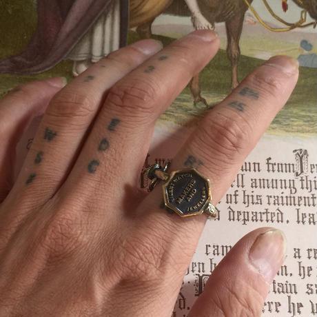 Silent watch key RING(真鍮)