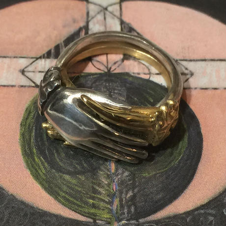 Hand in Hand RING2連(silver✖️gold)