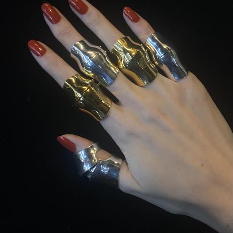 Third eye armor ring(GOLD)