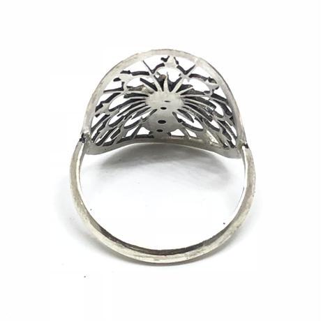 三日月と星屑の指輪(シルバー)