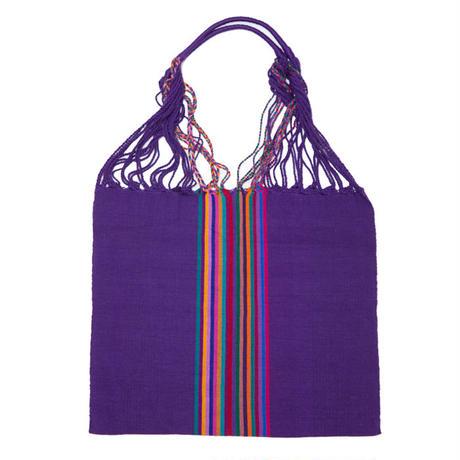 メキシコ ハンモックバッグ / Purple(パープル) 送料込み