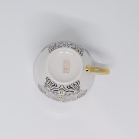 旧ソ連 リガ陶器工場  デミタスカップ
