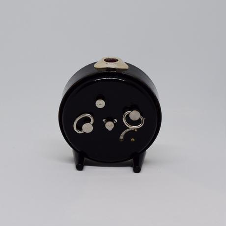 旧ソ連 ゼンマイ式 手巻き時計 Mup 黒