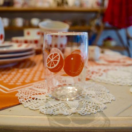 ドイツ オレンジのミニグラス