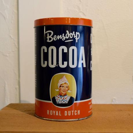 オランダ ココア缶  Bensdorp社