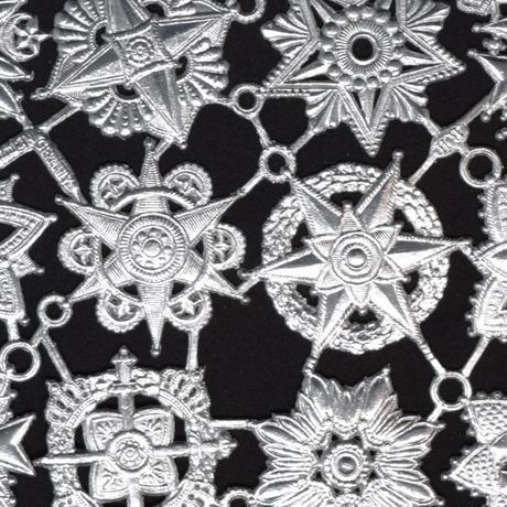 ドイツ ドレスデン ホイル 紋章 シルバー 6セット