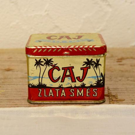 チェコ ミニミニ紅茶缶