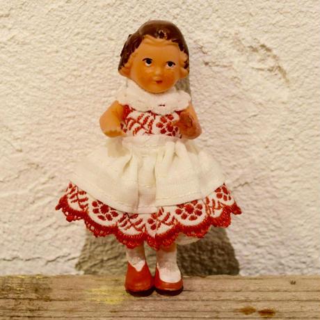 旧東ドイツ ワンピースの女の子 リデラー社