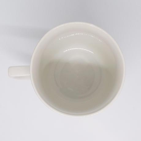 チェコ シンプル水玉マグカップ 赤