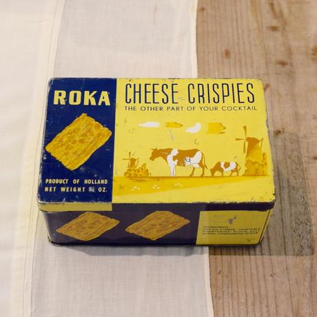 オランダ ROKA社  お菓子の缶