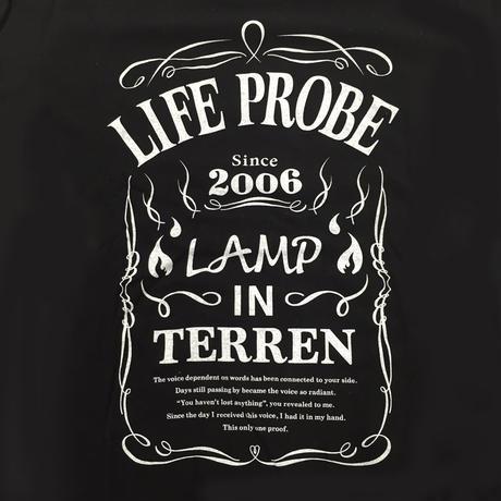 LAMP IN TERREN / LIFE PROBE T-Shirts(ブラック)