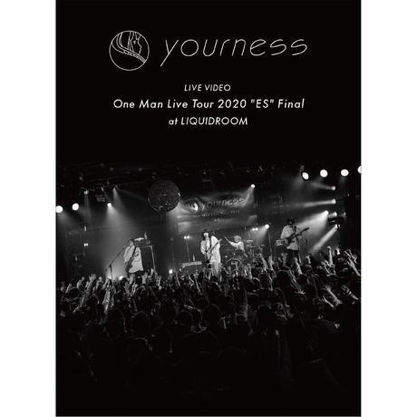 """ユアネス/yourness LIVE VIDEO  One Man Live Tour 2020 """"ES"""" Final at LIQUIDROOM"""