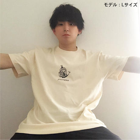 ユアネス/「籠の中に鳥」Tシャツ
