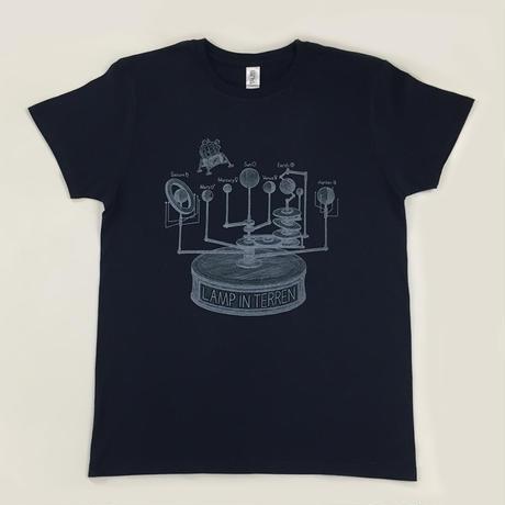 LAMP IN TERREN / ORRERY T-Shirts(ネイビー)