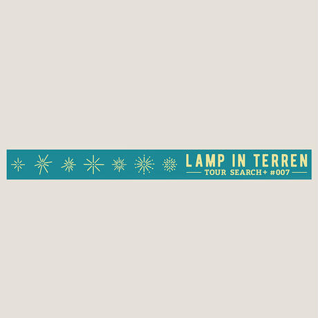 LAMP IN TERREN / TOUR「SEARCH+ #007」ラバーバンド(グリーン)
