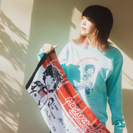MASH A&R / 【通常配送/送料あり】Mashroom2021 オフィシャルTシャツ(designed by 松本大)