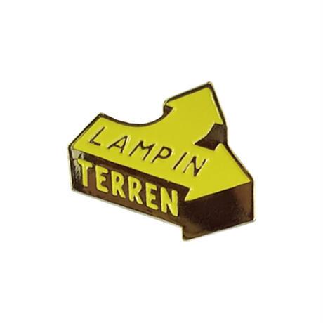 LAMP IN TERREN / 【10月中旬発送】Arrowピンバッジ
