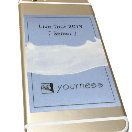 ユアネス / pass風 Select Tourステッカーセット