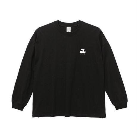 ユレニワ / ロゴ・ロングティーシャツ(黒)
